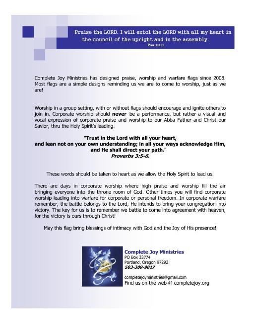 CJM flag infomation
