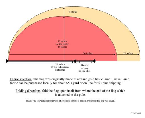 I am posting this flag pattern so that those who love flags might be able to create a beautiful one!
