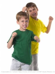 taunting boys