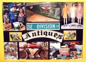 Division Street Antiques 16016 SE Division St. Portland, OR 97236