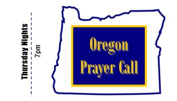 Oregon Prayer Call front